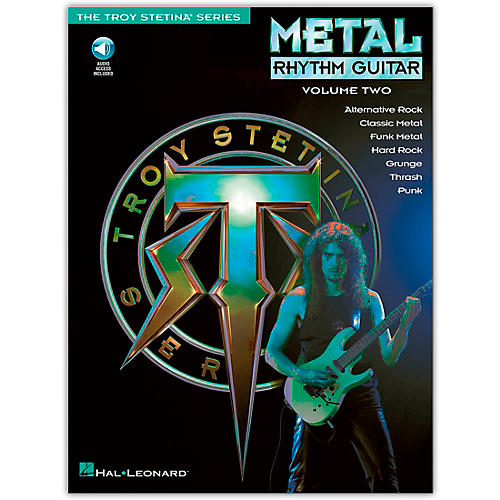 Hal Leonard Metal Rhythm Guitar Volume 2 (Book/Online Audio)-thumbnail