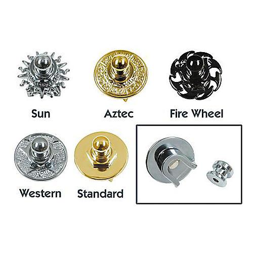 Q Parts Metal Series Straplock Chrome Standard