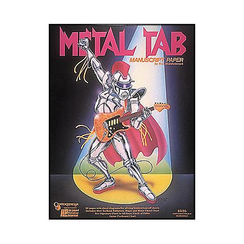 Centerstream Publishing Metal Tab Manuscript Paper