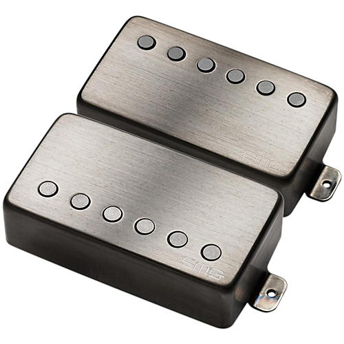 EMG Metal Works JH James Hetfield Humbucker Signature Set Brushed Black Chrome
