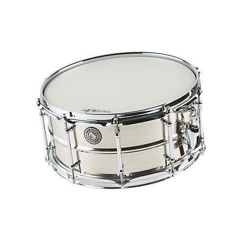 Taye Drums MetalWorks Stainless Steel Snare Drum with Vintage Style Tube Lugs