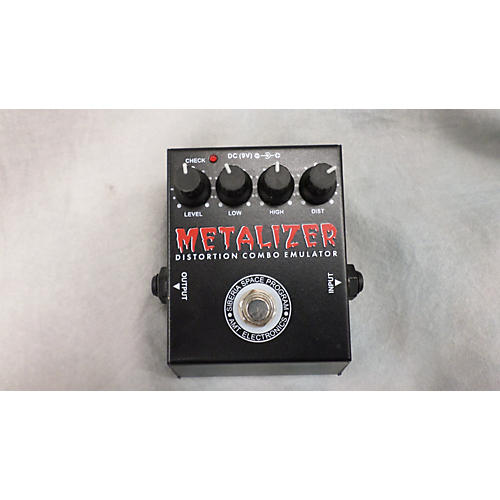 AMT Electronics Metalizer Distortion Combo Emulator Effect Pedal