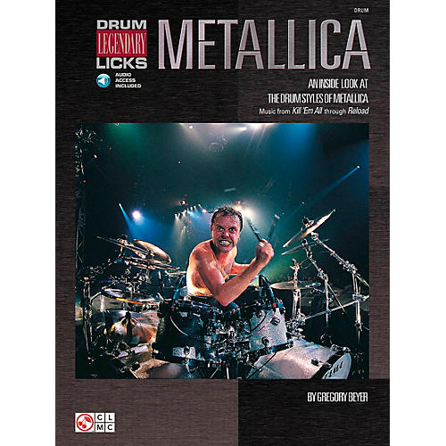 Hal Leonard Metallica - Drum Legendary Licks Book with CD