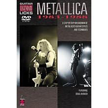 Cherry Lane Metallica - Guitar Legendary Licks 1983-1988 (DVD)