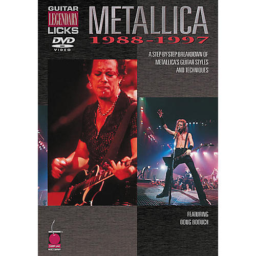 Cherry Lane Metallica - Guitar Legendary Licks 1988-1997 (DVD)-thumbnail
