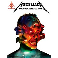 Hal Leonard Metallica - Hardwired...To Self-Destruct Guitar Tab Songbook