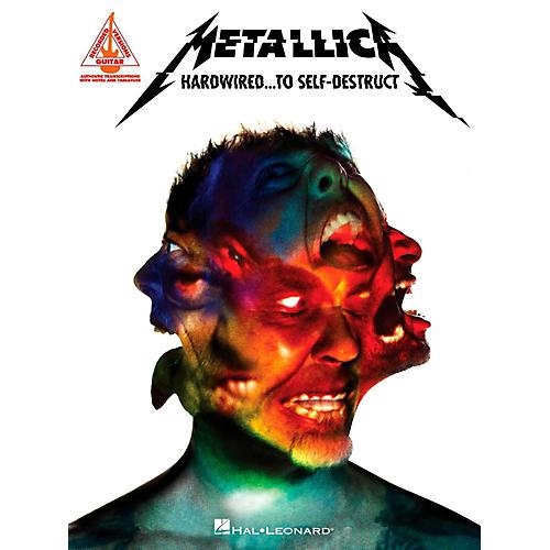 Hal Leonard Metallica - Hardwired...To Self-Destruct Guitar Tab Songbook-thumbnail