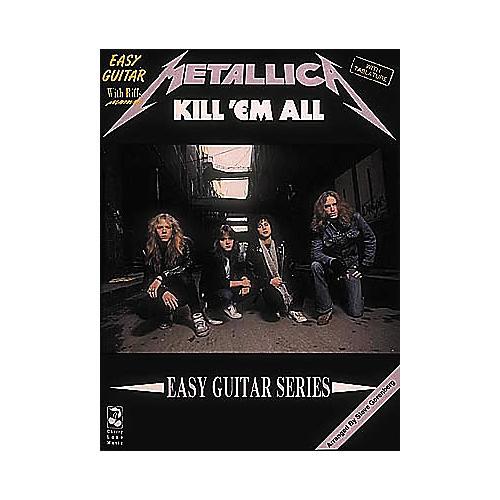 Cherry Lane Metallica - Kill 'Em All Book