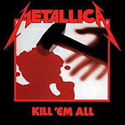 WEA Metallica - Kill 'Em All Vinyl LP (180 Gram Vinyl)