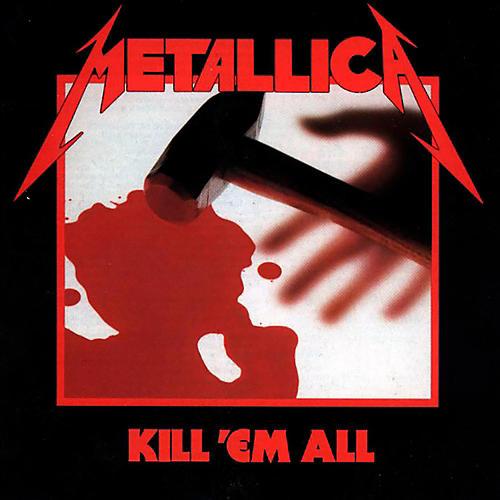 WEA Metallica - Kill 'Em All Vinyl LP (180 Gram Vinyl)-thumbnail
