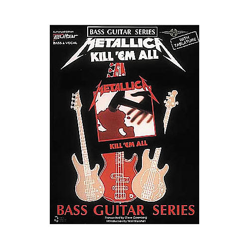 Cherry Lane Metallica - Kill 'em All Bass Guitar Series Tab Songbook-thumbnail