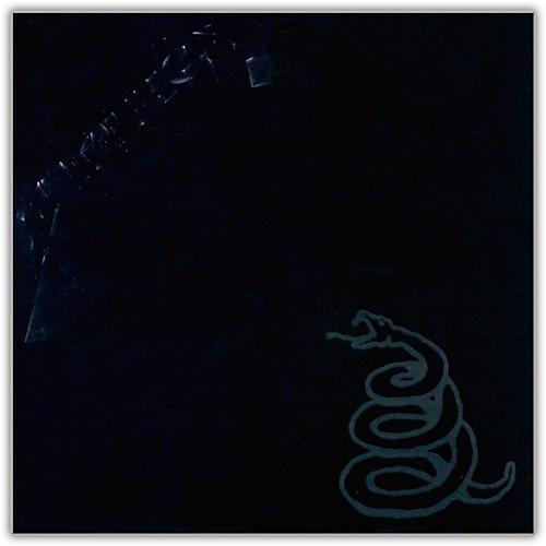 WEA Metallica - Metallica (The Black Album) Vinyl LP-thumbnail