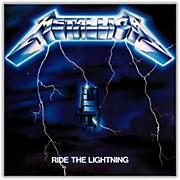 WEA Metallica - Ride the Lightning Vinyl LP (180 Gram Vinyl)