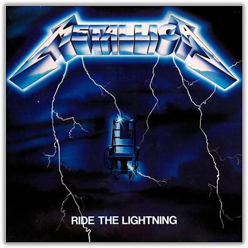 WEA Metallica - Ride the Lightning Vinyl LP (180 Gram Vinyl)