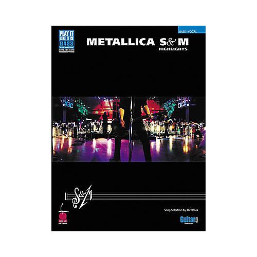 Cherry Lane Metallica - S&M Highlights Book