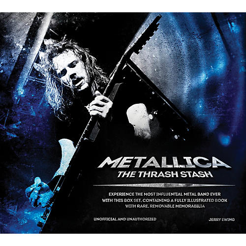 Backbeat Books Metallica - The Thrash Stash Book-thumbnail
