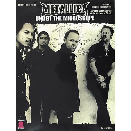 Cherry Lane Metallica - Under the Microscope Guitar Tab Instructional Songbook-thumbnail