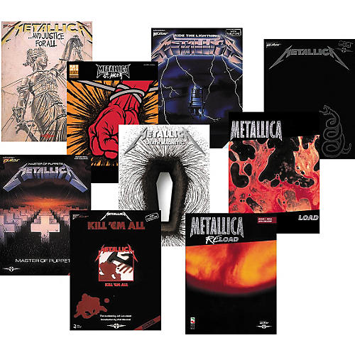 Cherry Lane Metallica Complete Guitar Tab Library-thumbnail