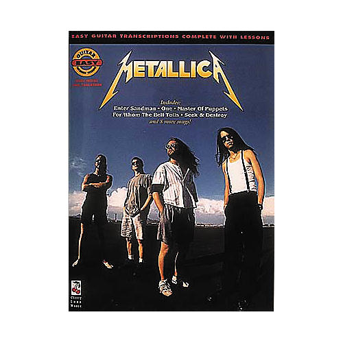 Cherry Lane Metallica Easy Guitar Tab Songbook-thumbnail