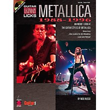 Cherry Lane Metallica Guitar Legendary Licks 1988-1996 Book with CD