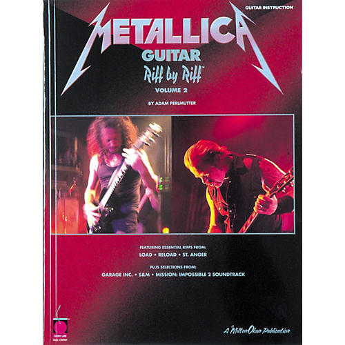 Cherry Lane Metallica Guitar Riff by Riff Volume 2 Book-thumbnail