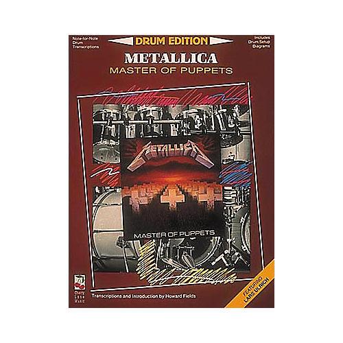 Hal Leonard Metallica Masters of Puppets Drum Edition (Book)