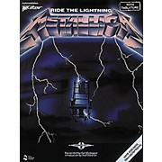 Metallica: Ride The Lightning Guitar Tab Songbook
