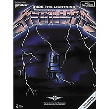 Hal Leonard Metallica: Ride The Lightning Guitar Tab Songbook