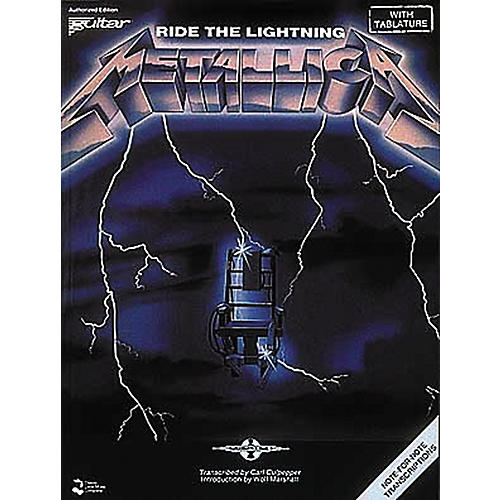 Hal Leonard Metallica: Ride The Lightning Guitar Tab Songbook