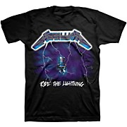 Bravado Metallica Ride The Lightning T-Shirt