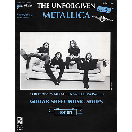 Cherry Lane Metallica The Unforgiven Guitar Tab