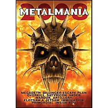 Hal Leonard Metalmania 2008 Live Concert DVD with Megadeth Overkill Rimordial And More