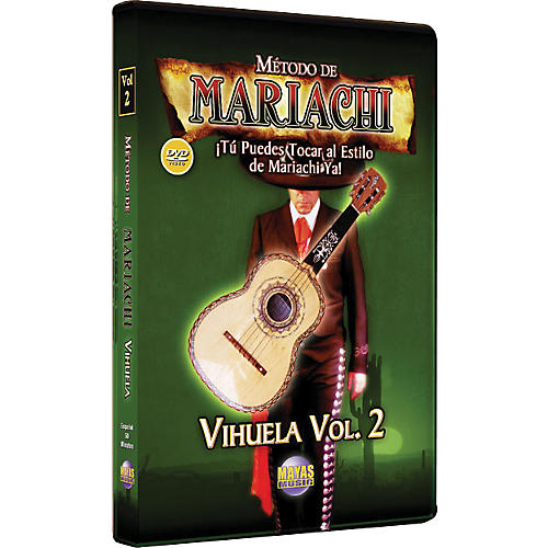 Mel Bay Metodo De Mariachi Vihuela DVD, Volume 2 - Spanish Only