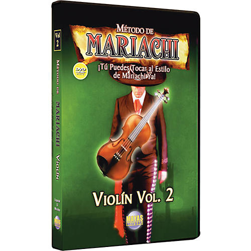 Mel Bay Metodo De Mariachi Violin DVD, Volume 2 - Spanish Only-thumbnail