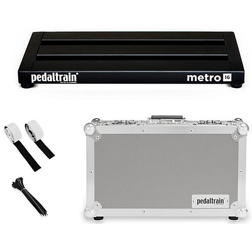 Pedaltrain Metro 16 with Tour Case-thumbnail