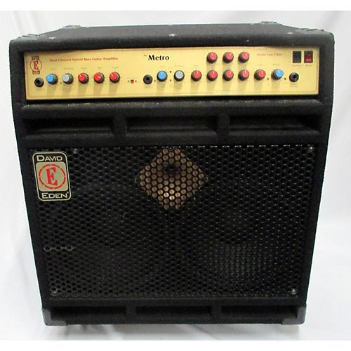 Used Eden Metro 2x10 Bass Combo Amp