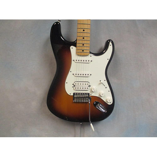 Fender Mexi Strat HSS Solid Body Electric Guitar