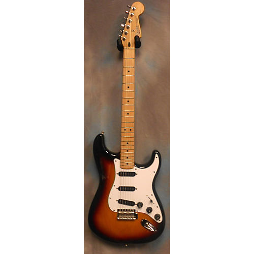 Fender Mexi Stratocaster SSS Solid Body Electric Guitar-thumbnail