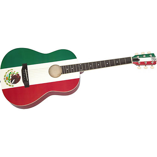 Rogue Mexican Flag Acoustic Guitar-thumbnail
