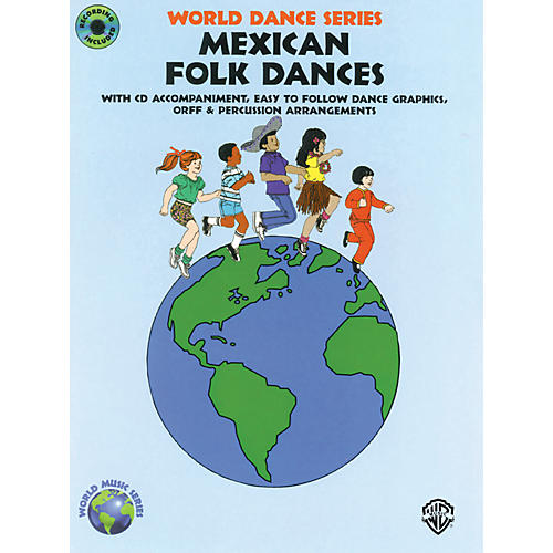 Alfred Mexican Folk Dances Book and CD-thumbnail