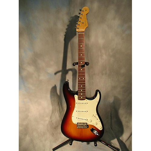 Fender Mexican Stratocaster 60s Reissue Solid Body Electric Guitar-thumbnail
