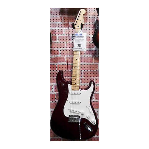 used fender mexican stratocaster electric guitar guitar center. Black Bedroom Furniture Sets. Home Design Ideas