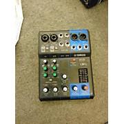 Yamaha Mg06 Powered Mixer