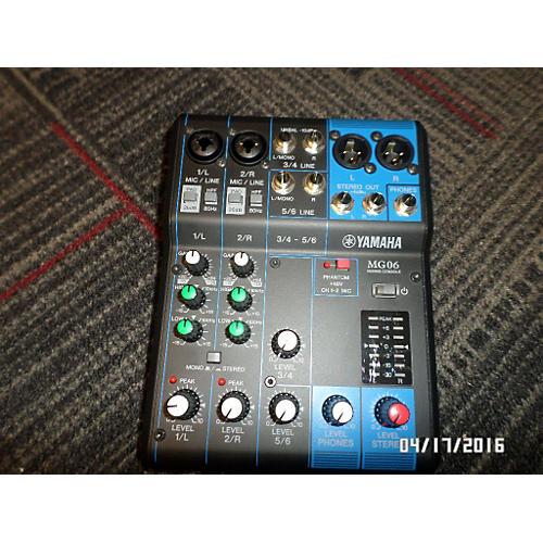 Yamaha Mg06 Unpowered Mixer-thumbnail