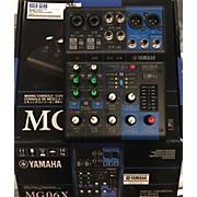 Yamaha Mg06x Line Mixer