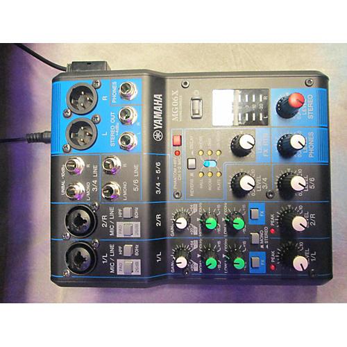 Yamaha Mg06x Unpowered Mixer-thumbnail