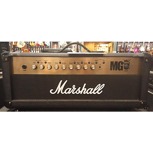 Marshall Mg100fx Head Solid State Guitar Amp Head-thumbnail