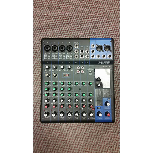 Yamaha Mg10xu Unpowered Mixer