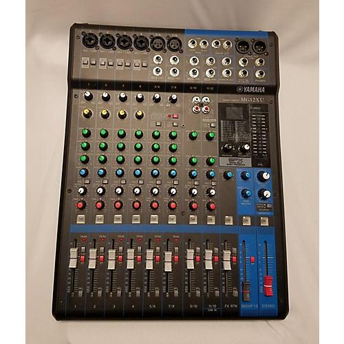 Yamaha Mg12xu Digital Mixer-thumbnail