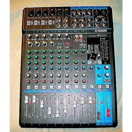 Yamaha Mg12xu Unpowered Mixer